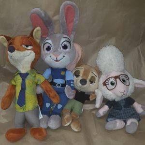 Zootopia movie star characters